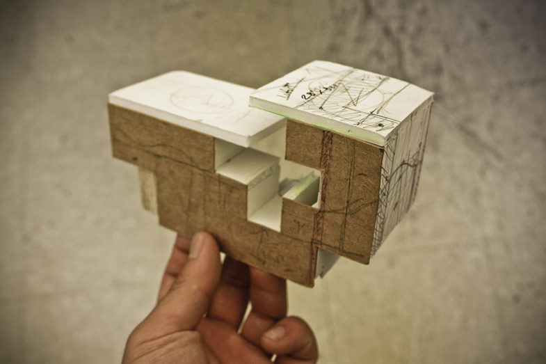 study model used to design and construct